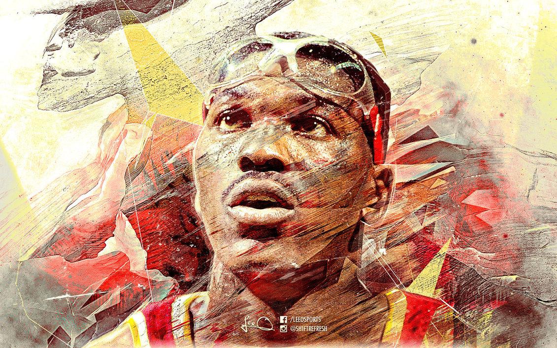 Hakeem Olajuwon NBA Wallpaper by skythlee on DeviantArt