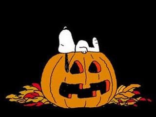 Free Snoopy's Halloween phone wallpaper by missjas