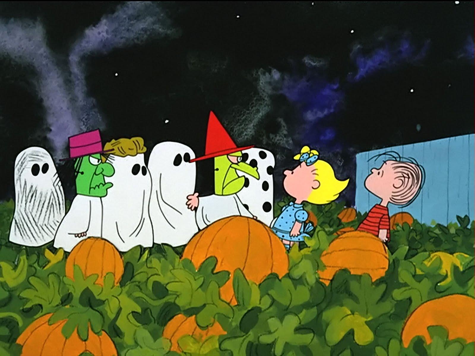 Peanuts Halloween Wallpapers - Wallpaper Cave