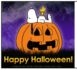 Free Halloween Wallpapers - mmw blog: Snoopy Halloween Wallpapers