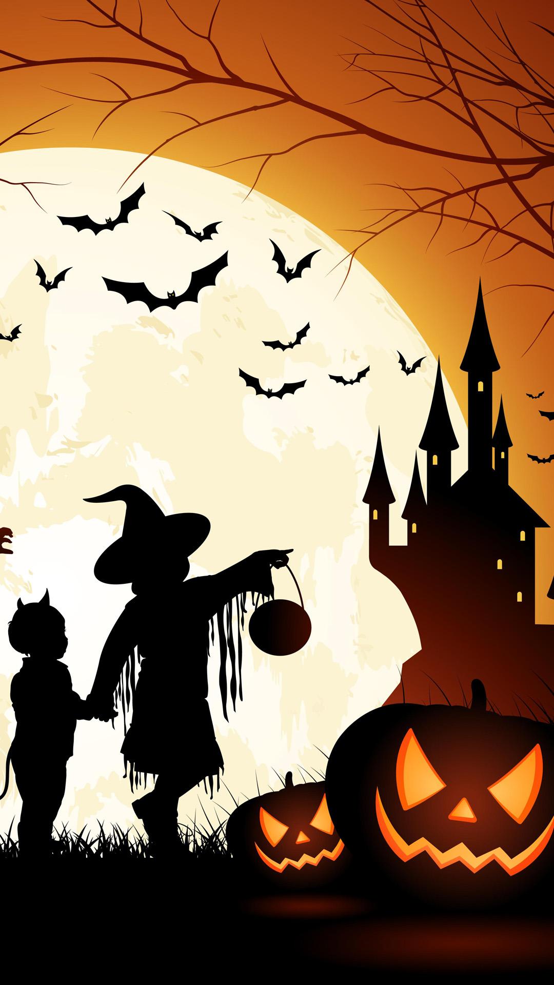 Halloween Wallpaper iPhone 6 Plus - WallpaperSafari