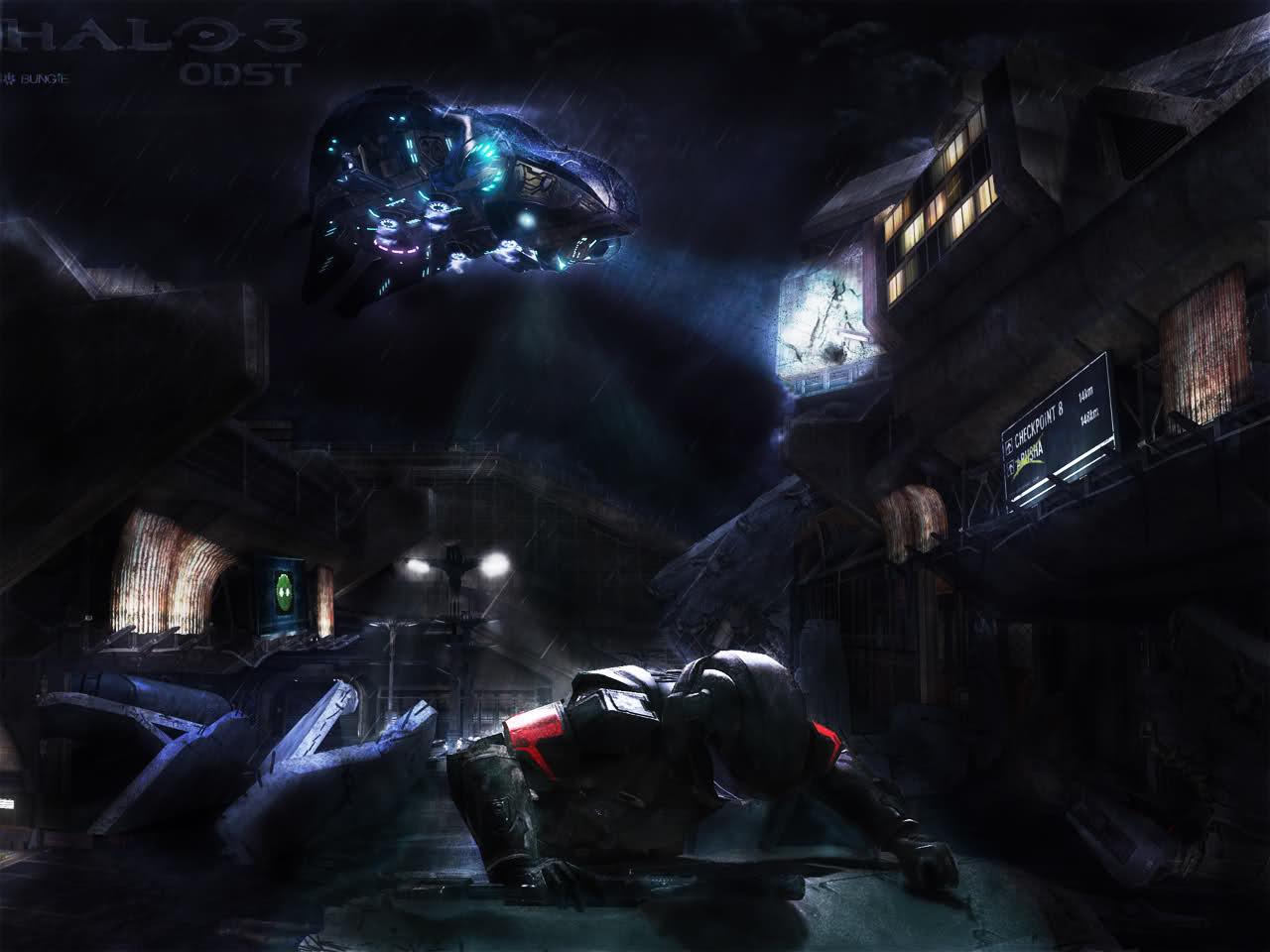 Bungie net : The Gallery : Halo 3: ODST [wallpaper]