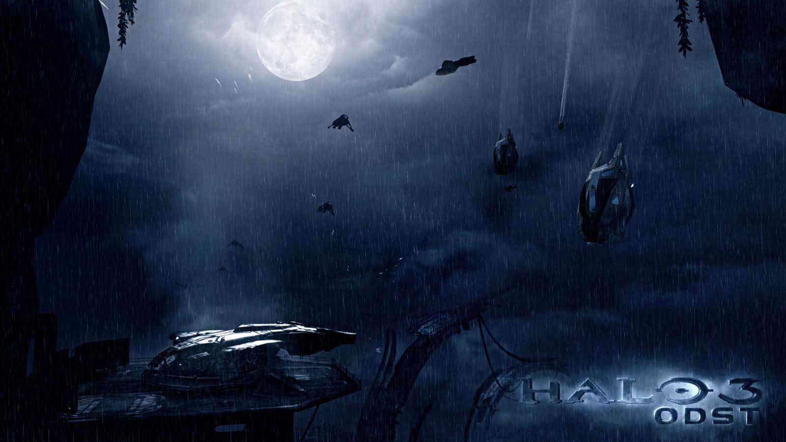Bungie net : Halo 3: ODST Forum : Photoshop - Halo 3 ODST Wallpaper 3