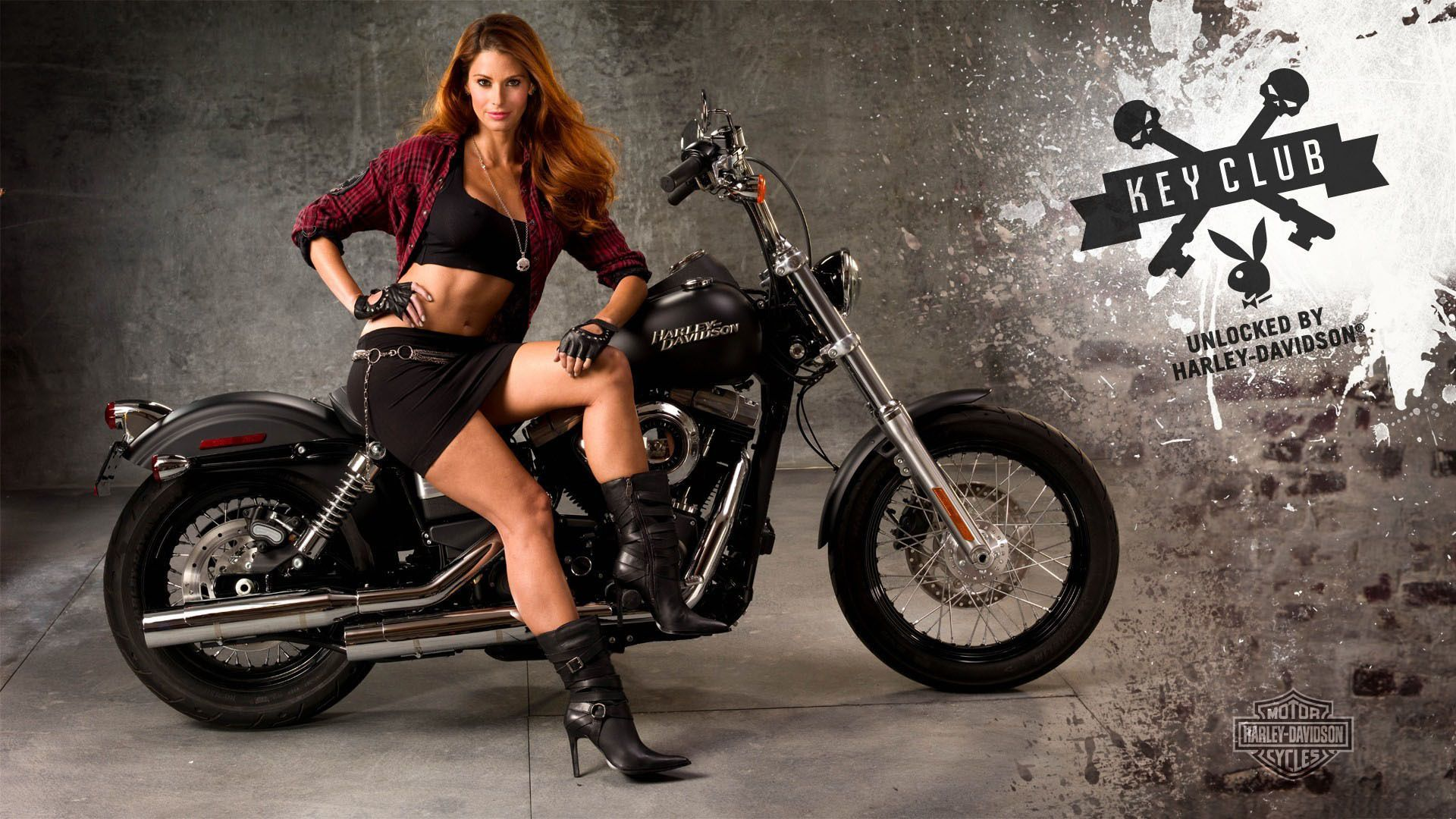 Collection of Harley Girl Wallpaper on HDWallpapers