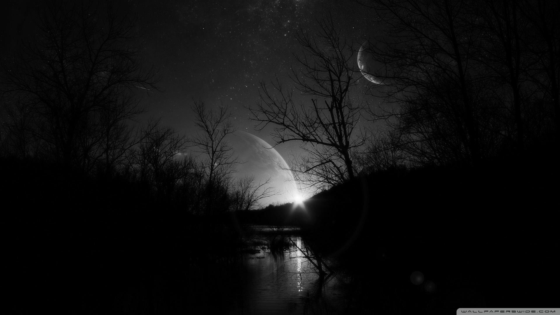 Dark Night HD desktop wallpaper : Widescreen : High Definition