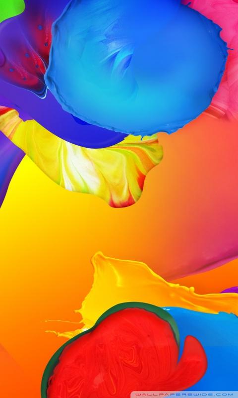 Galaxy S5 Paint HD desktop wallpaper : Widescreen : High
