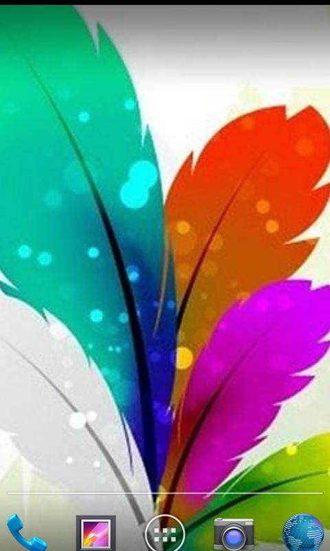 Feathers Of Birds HD Wallpaper - Android Apps on Google Play