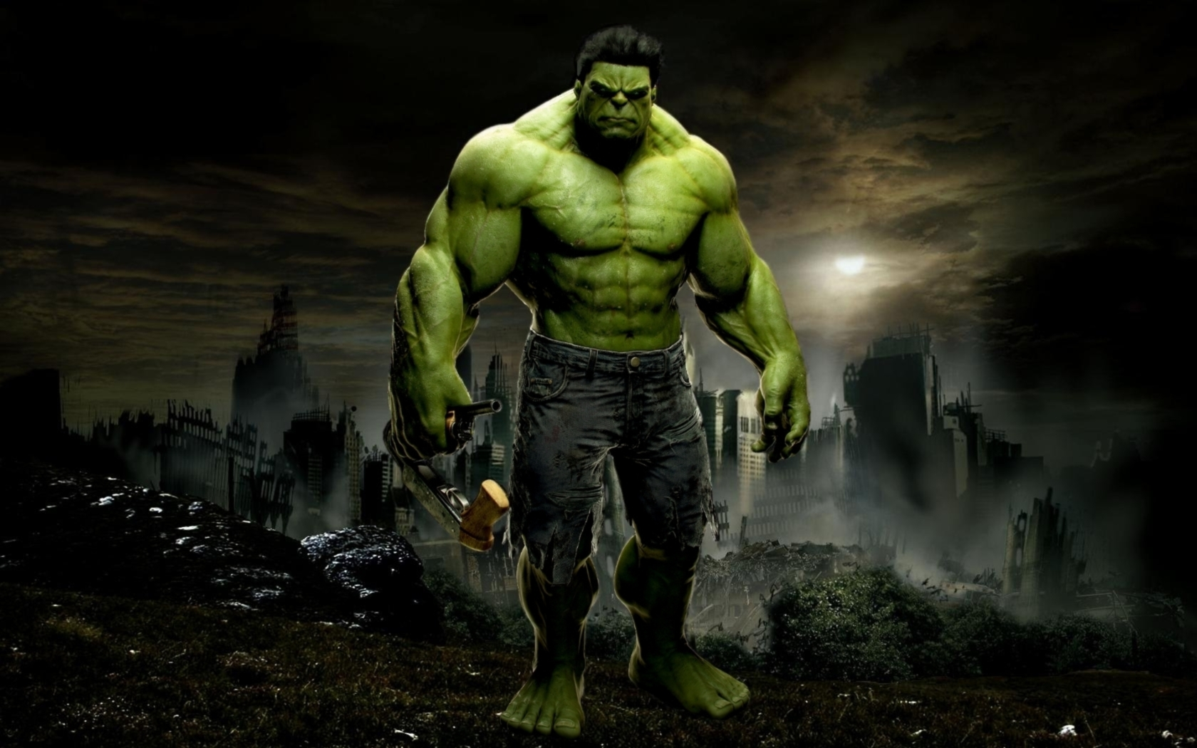 Download Awesome Marvel Hulk Wallpaper 1680x1050 | Full HD Wallpapers