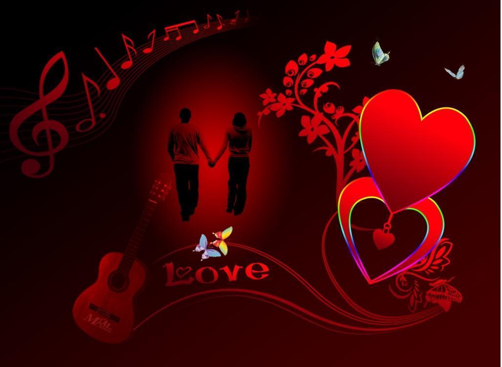 i love u heart wallpaper 25