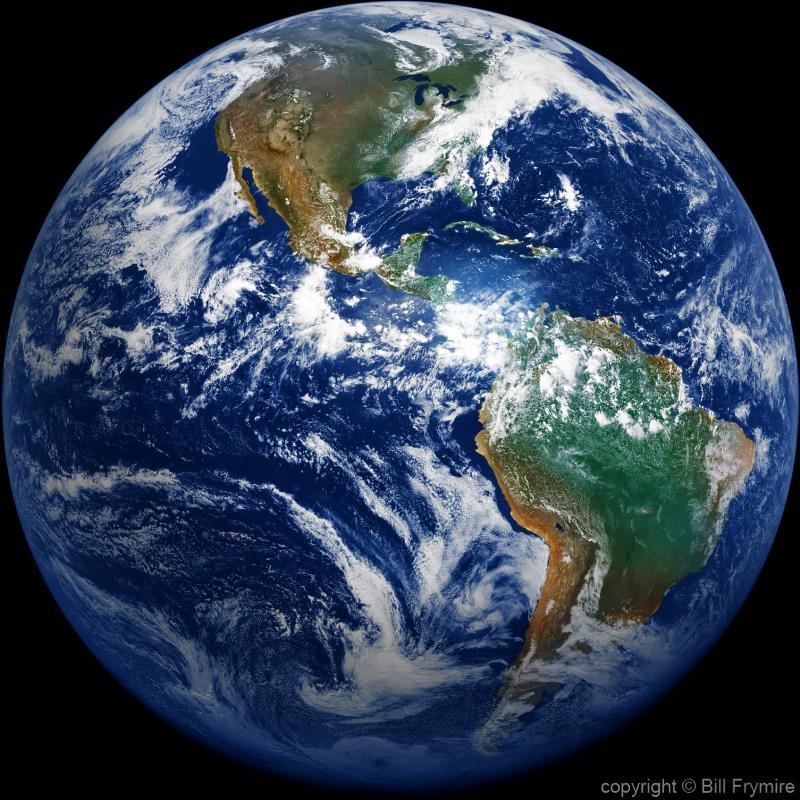 Earth From Space - Bill FrymireBill Frymire |