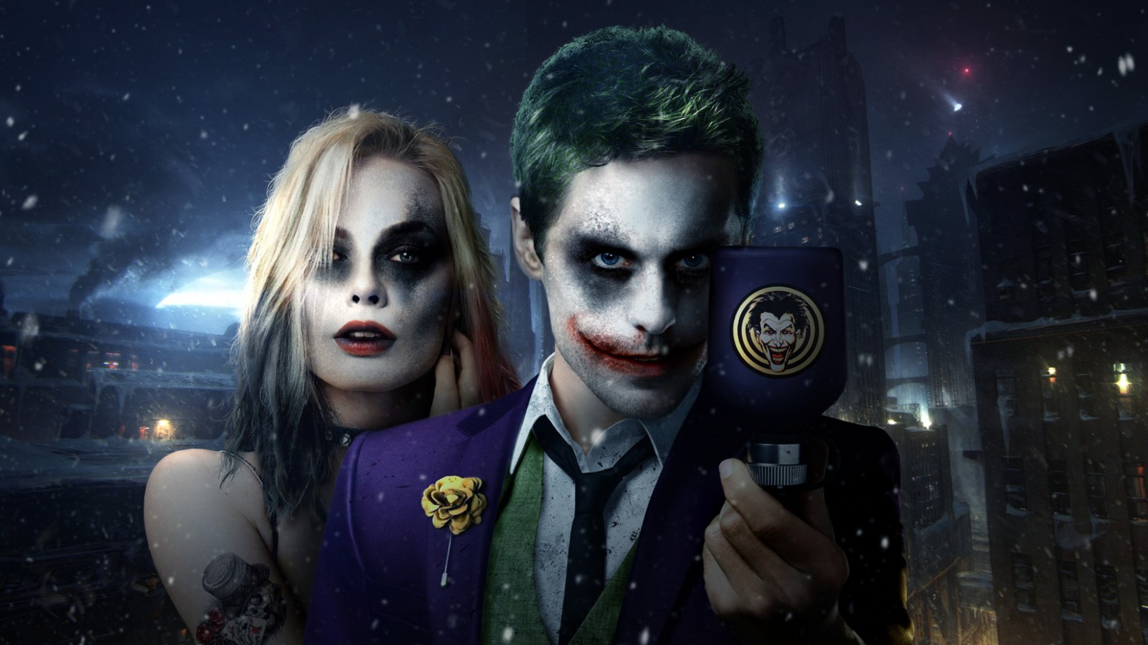 Joker Harley Quinn Wallpaper Sf Wallpaper
