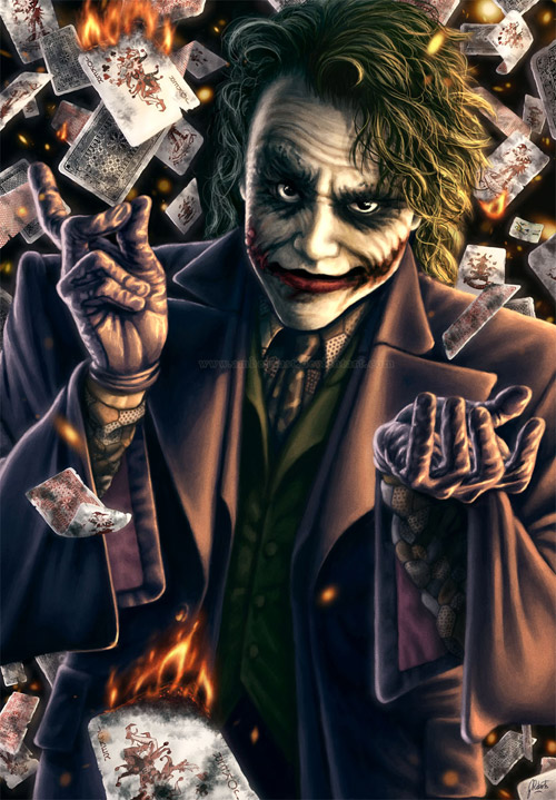 Why So Serious: 30 Incredible Joker Illustrations | Inspirationfeed