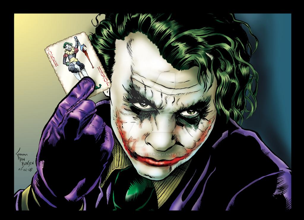 The Joker - by DanLuVisiArt on DeviantArt