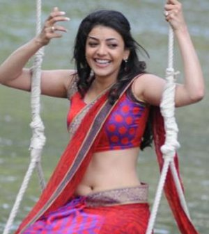 Kajal Agarwal Saree Hot Pictures | New Movie Posters