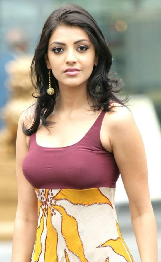 Telugu Actress Kajal Agarwal Hot And Unseen Pics : http://www