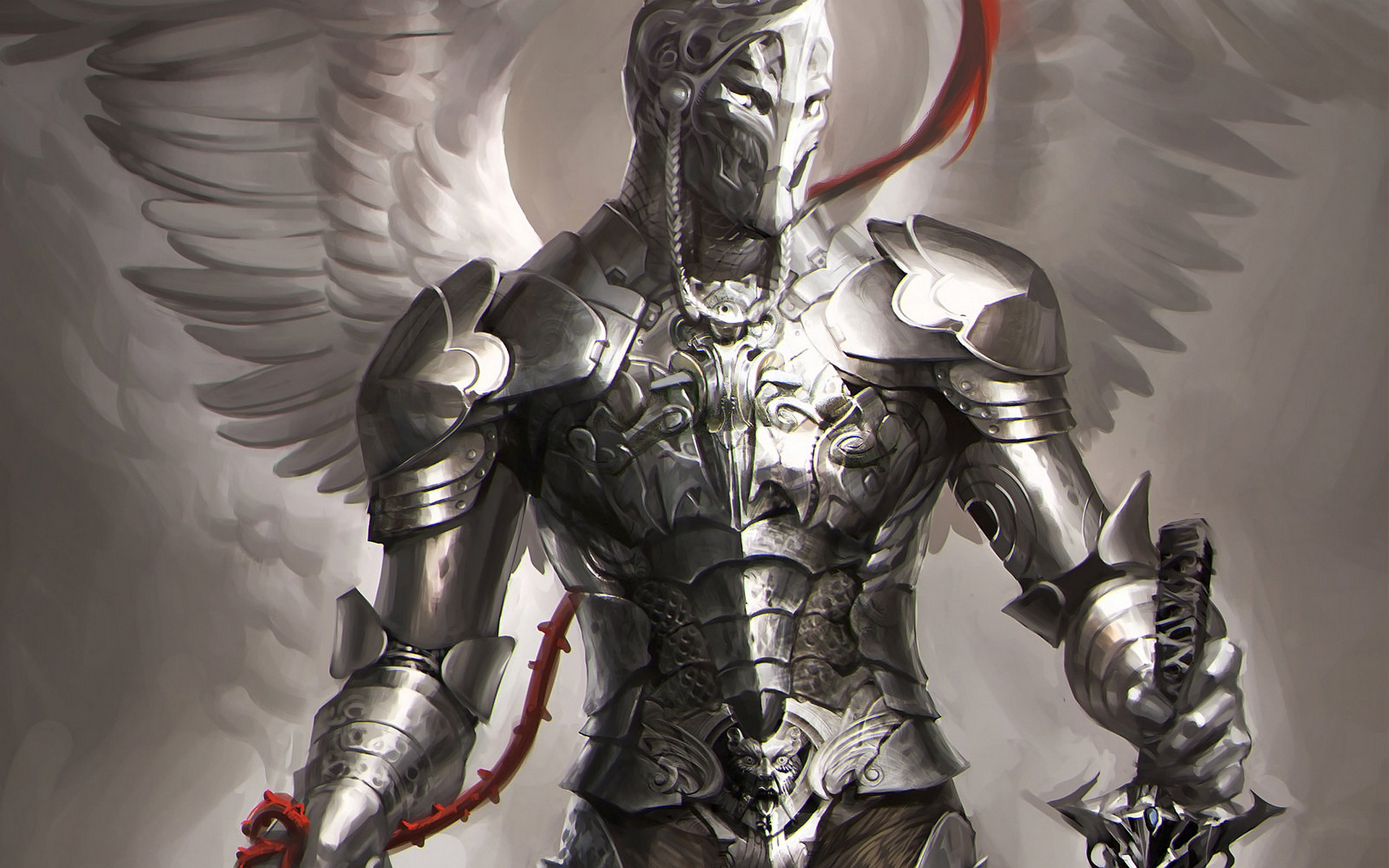 Warrior Angel Art | Angel knight Wallpapers Pictures Photos Images