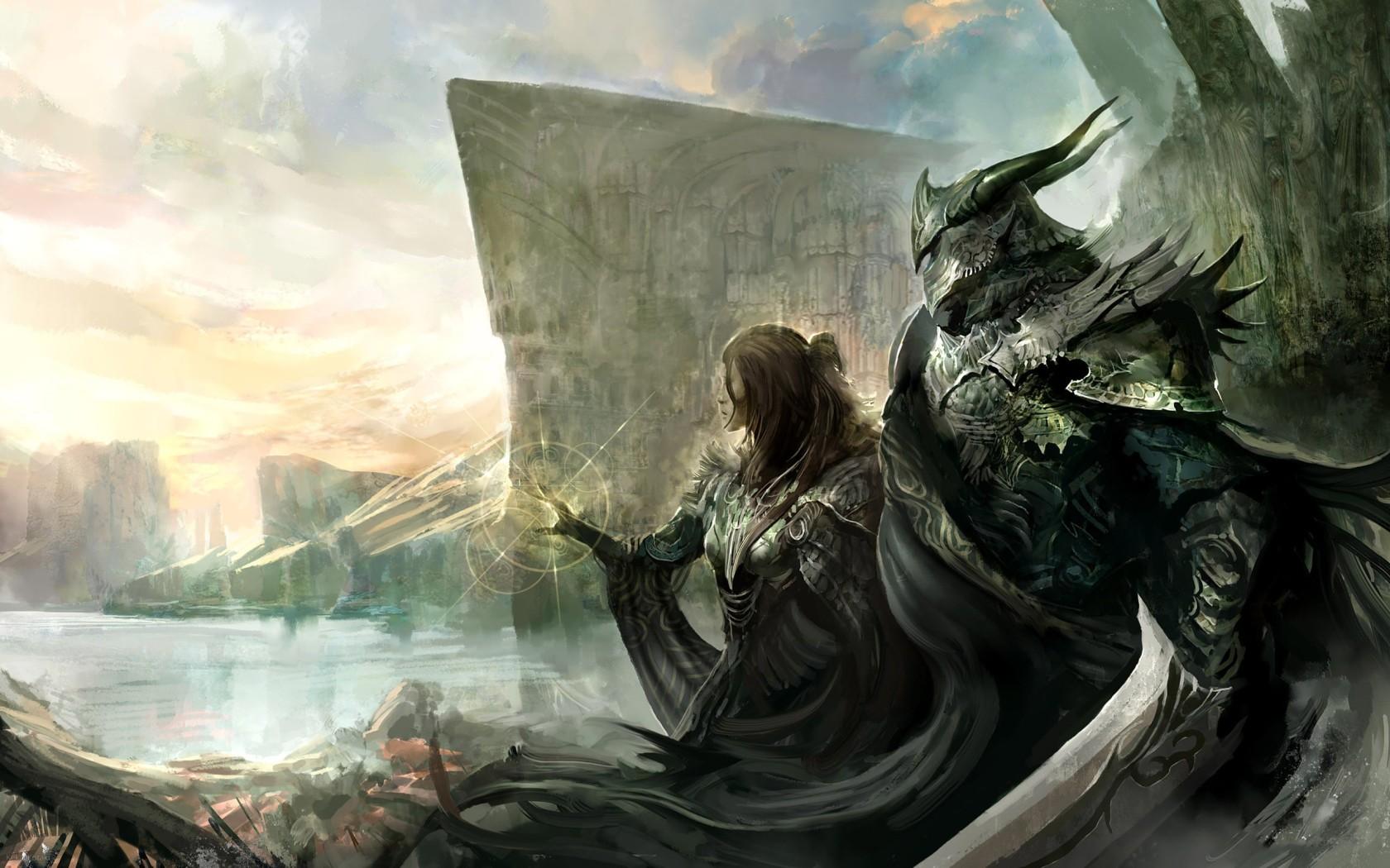 Knights widescreen wallpaper | Wide-Wallpapers NET