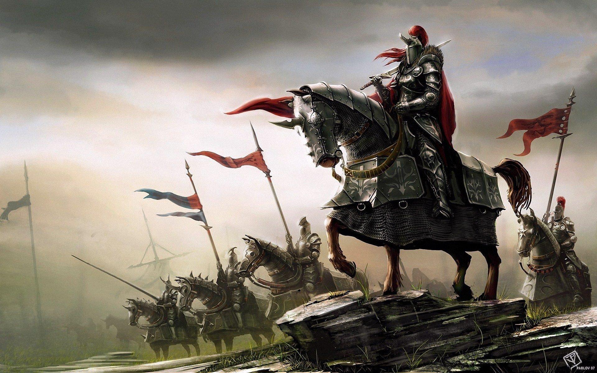 Fantasy Knights Wallpaper