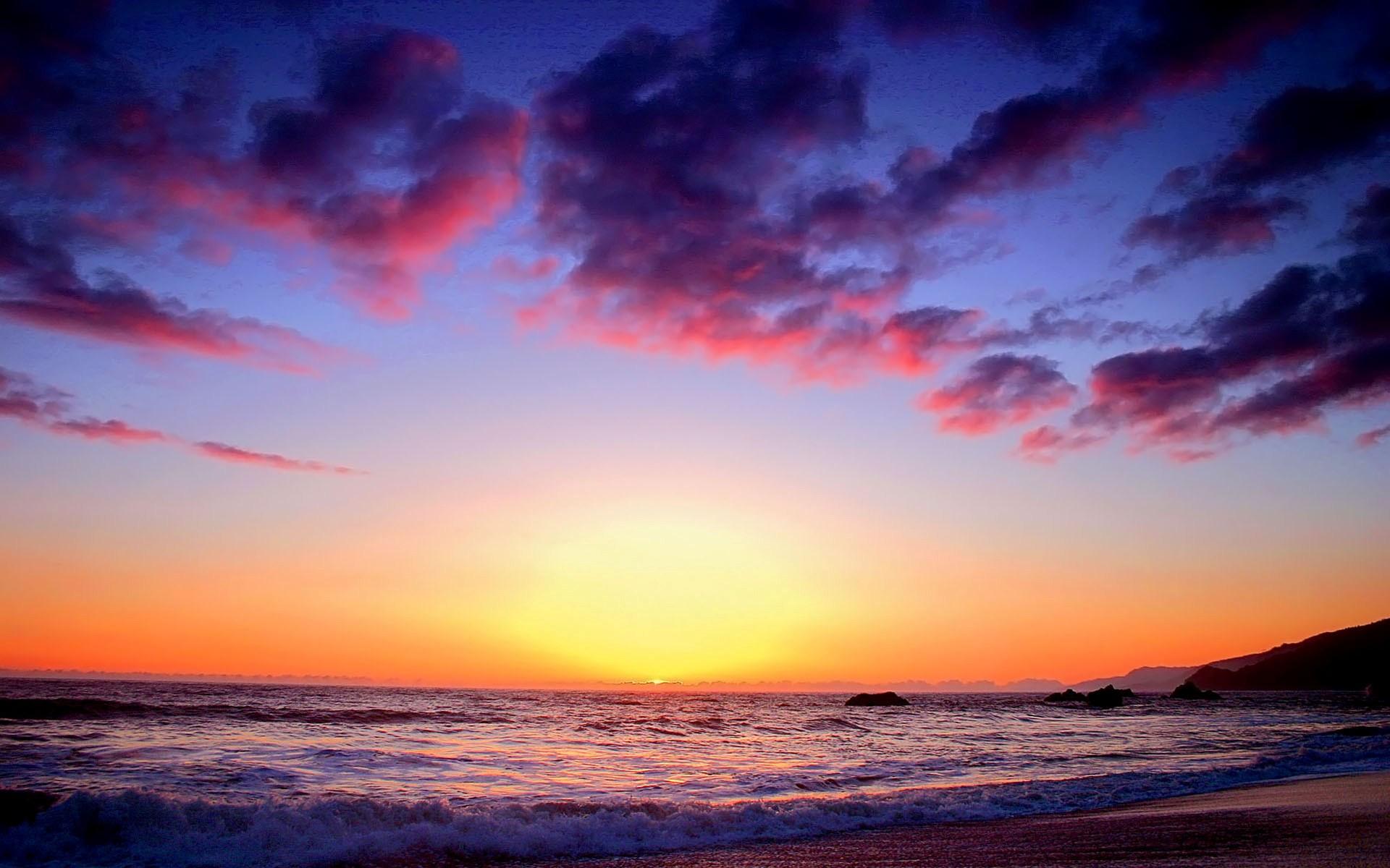 beautiful sunset backgrounds