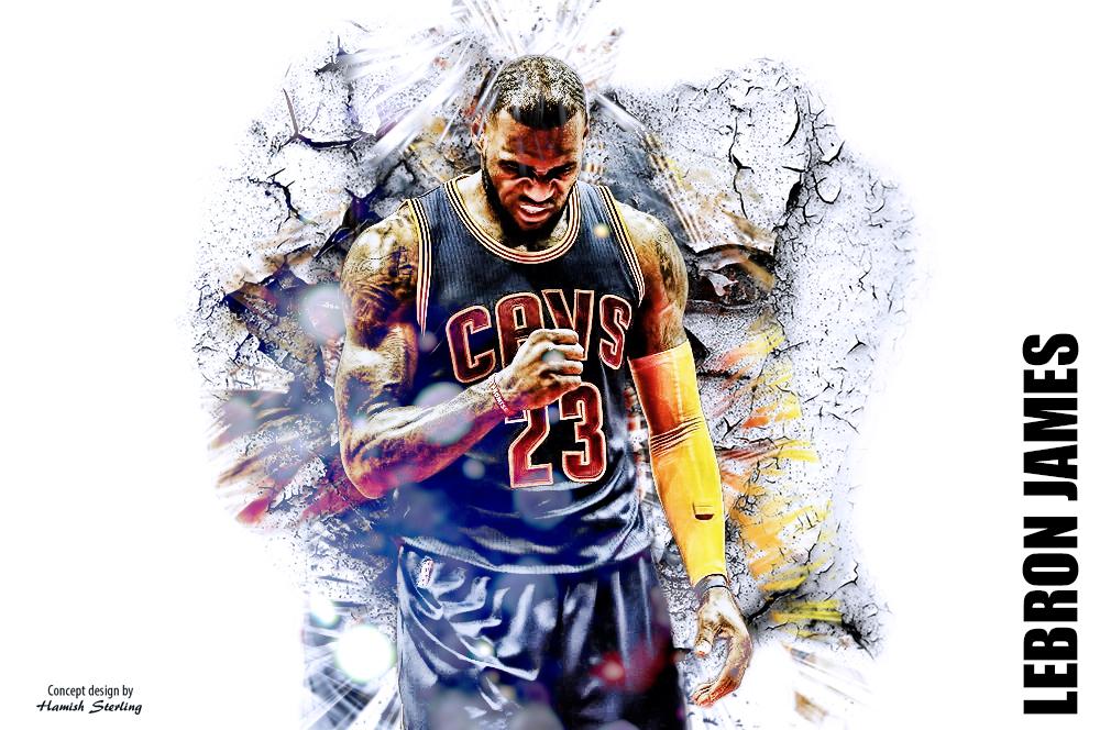 LeBron James wallpaper by HPS74 on DeviantArt