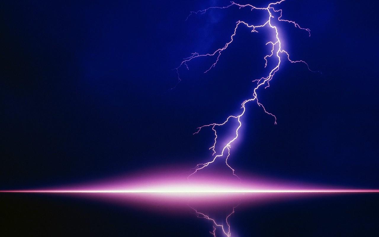 background lightning