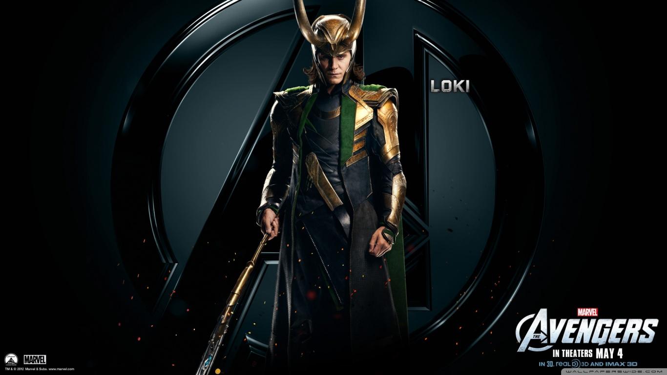 The Avengers Loki HD desktop wallpaper : High Definition : Mobile