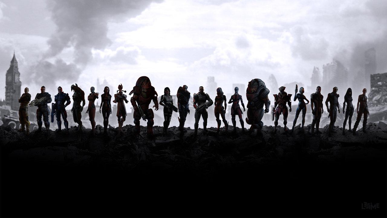 Mass Effect Wallpaper, Top HD Mass Effect Wallpapers, #DJ HDQ Cover