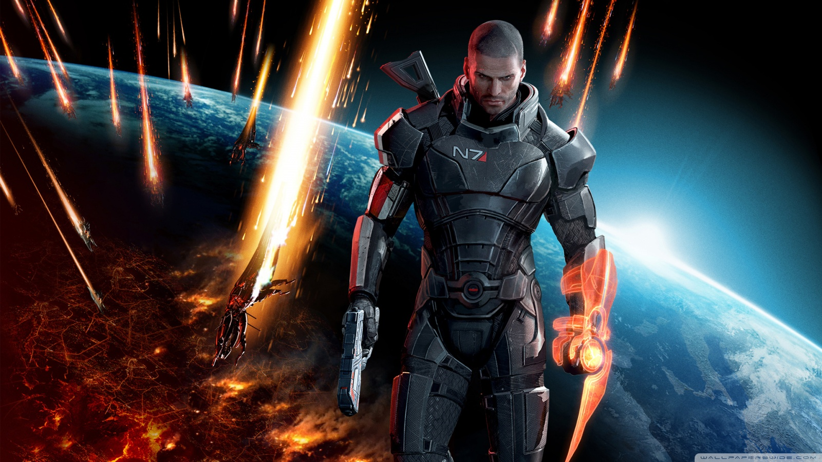 Mass Effect HD desktop wallpaper : Widescreen : High Definition