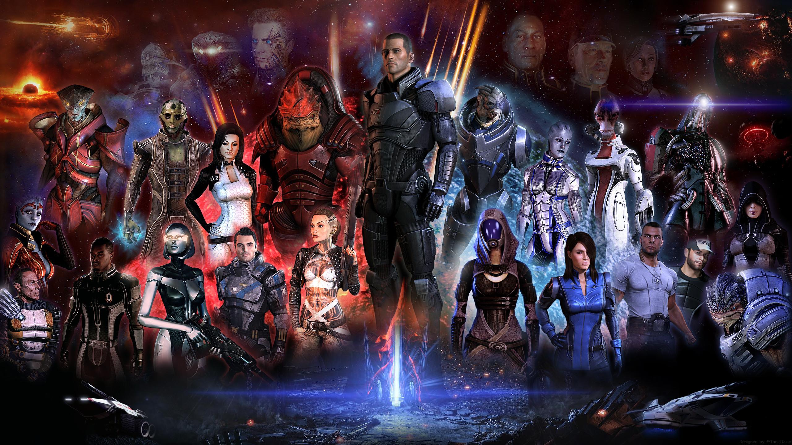 401 Mass Effect HD Wallpapers | Backgrounds - Wallpaper Abyss