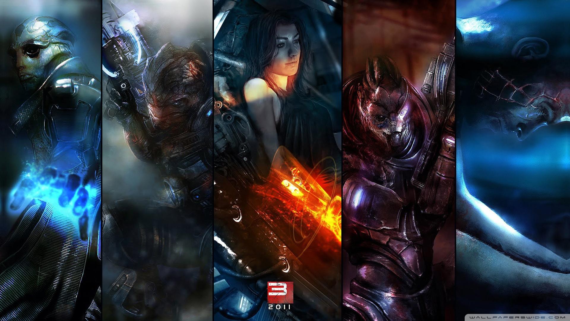 Mass Effect HD desktop wallpaper : High Definition : Mobile