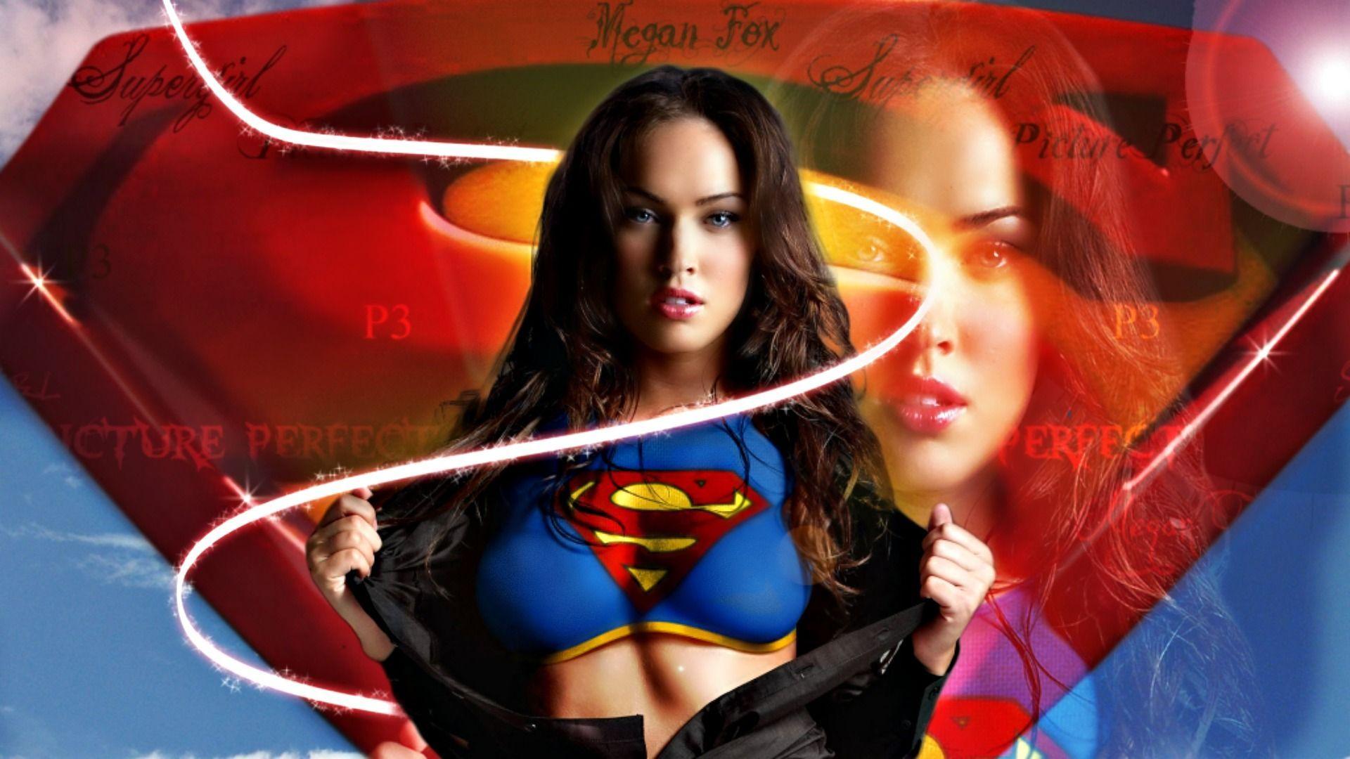 Megan Fox Supergirl Wallpapers - WallpaperPulse