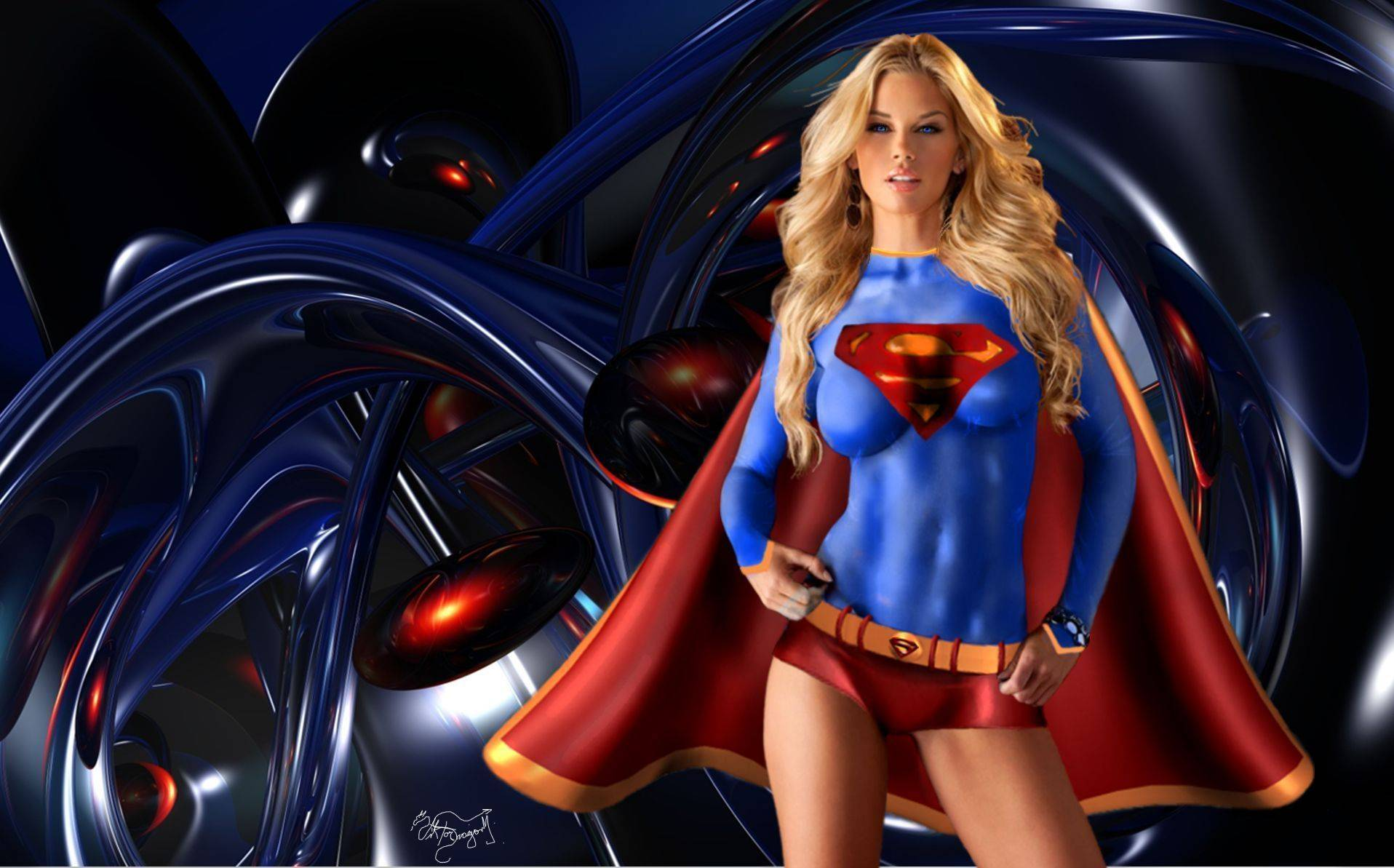Super Girl Wallpaper – Free wallpaper download