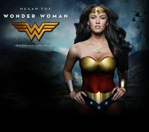 Download free megan fox supergirl wallpapers for your mobile phone