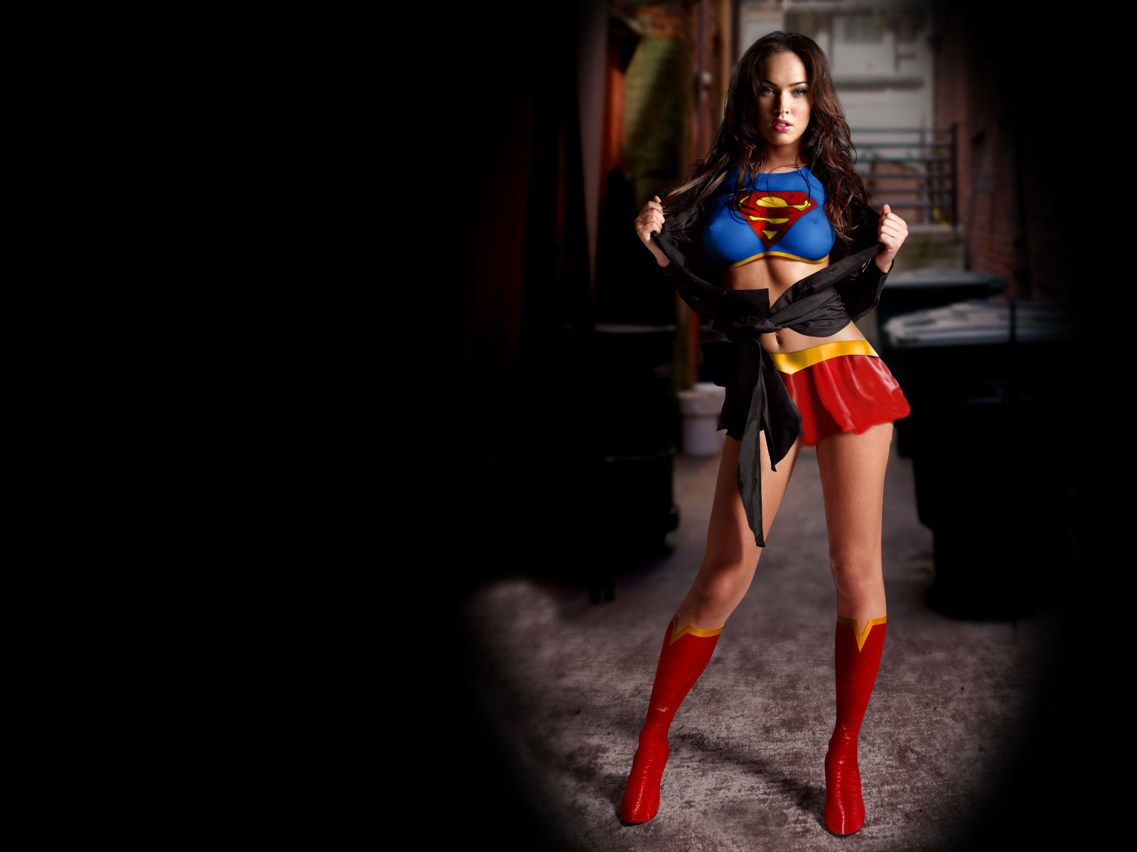 Megan Fox Supergirl Wallpaper | Megan Fox | Pinterest | Supergirl