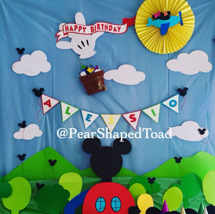 1000+ ideas about Mickey Mouse Backdrop on Pinterest | Mickey