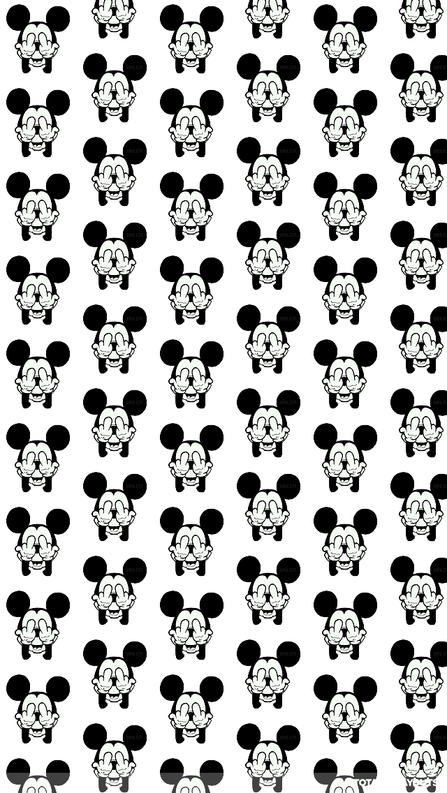 mickey mouse wallpaper black and white 5