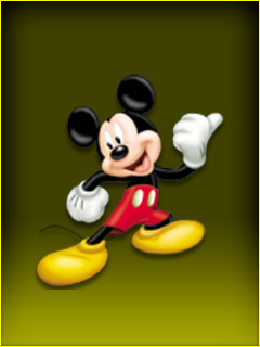 Mickey Mouse Mobile Phone Wallpapers 240x320 Hd Phone Backgrounds