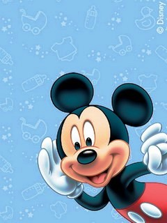 Mickey Mouse Samsung Mobile Wallpapers 240x320 Phone Hd Wallpapers