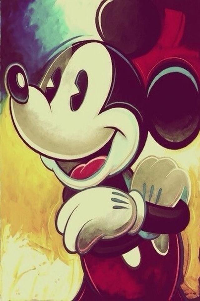 Mickey Mouse Phone Wallpaper - WallpaperSafari