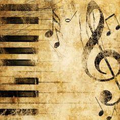 music notes wallpaper