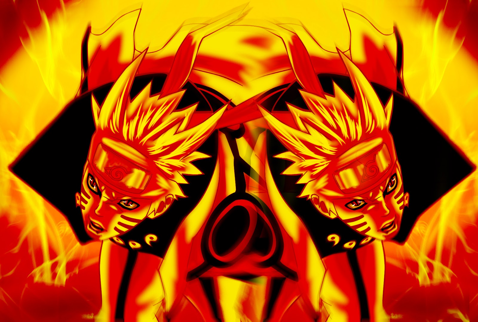 naruto kurama mode wallpaper 9
