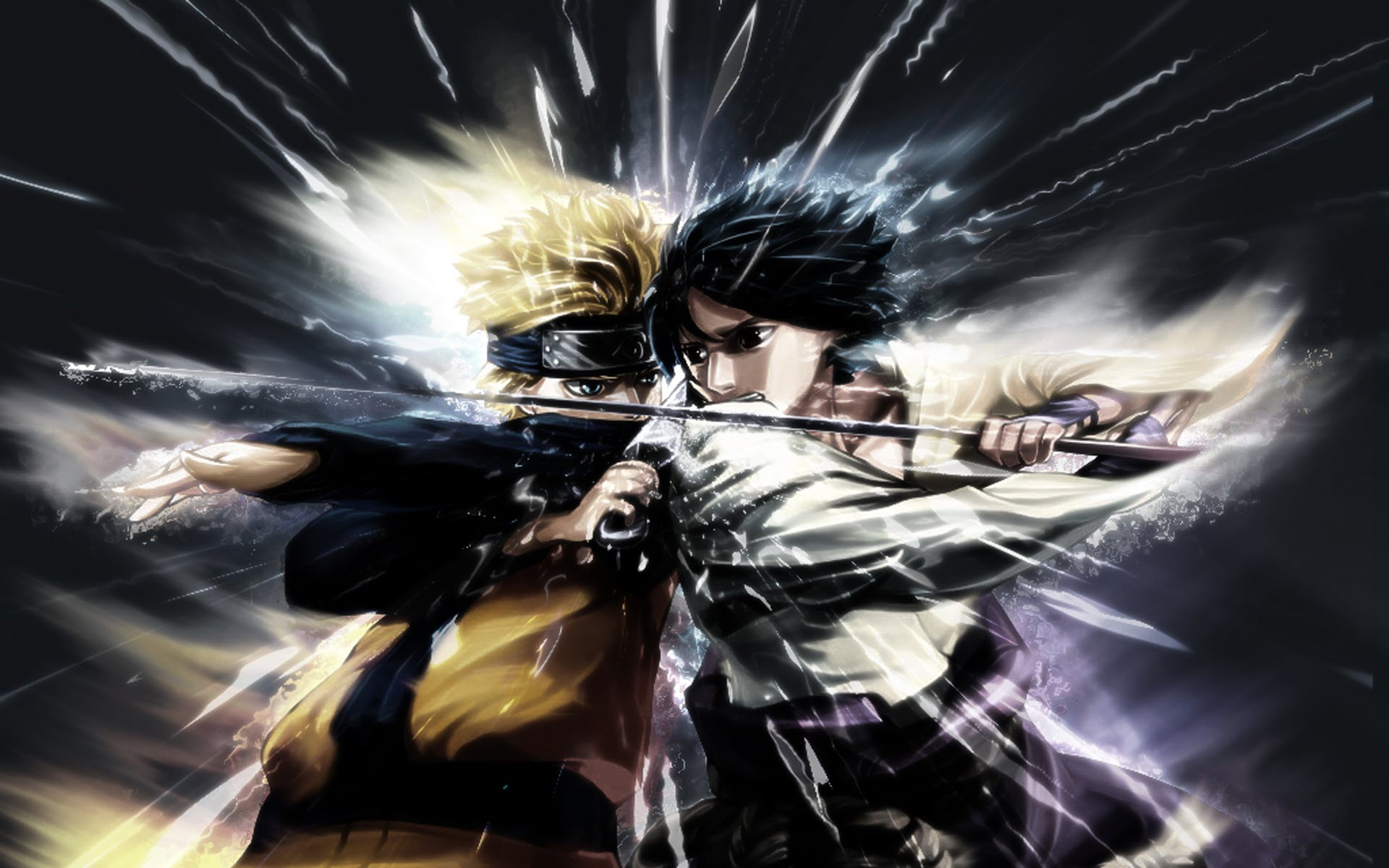 Naruto Vs Sasuke Wallpaper Sf Wallpaper