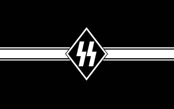 SS Nazi Party Flag Wallpaper German Wallpaper Free - Download SS