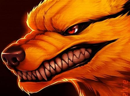 nine tail fox wallpaper 19