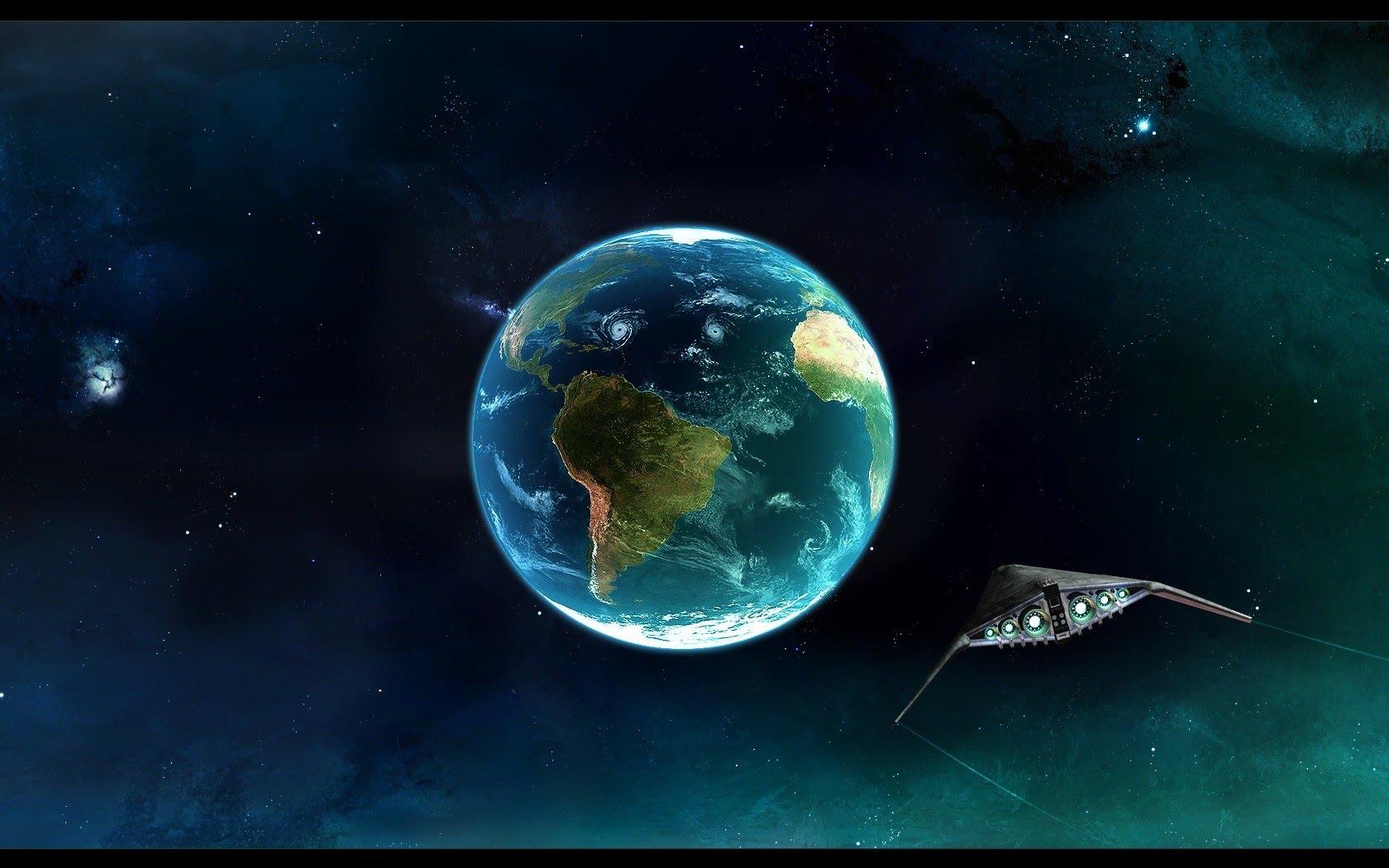 Earth From Space Full HD Nova - YouTube