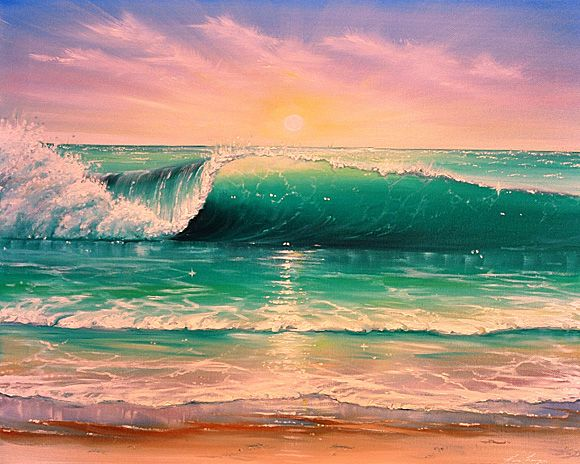 1000+ ideas about Beach Paintings on Pinterest | Beach art, Sea