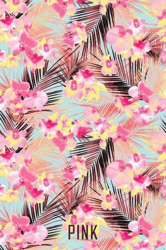 victoria secret pink wallpaper tumblr - Google Search   Tropical