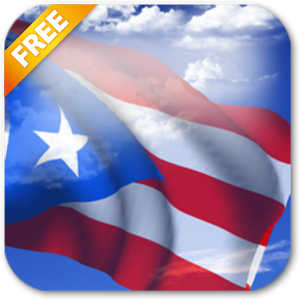 3D Puerto Rico Flag LWP - Android Apps on Google Play