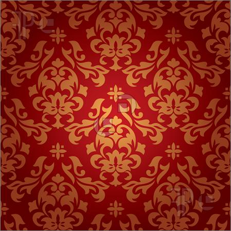 Red And Black Damask Wallpaper Free