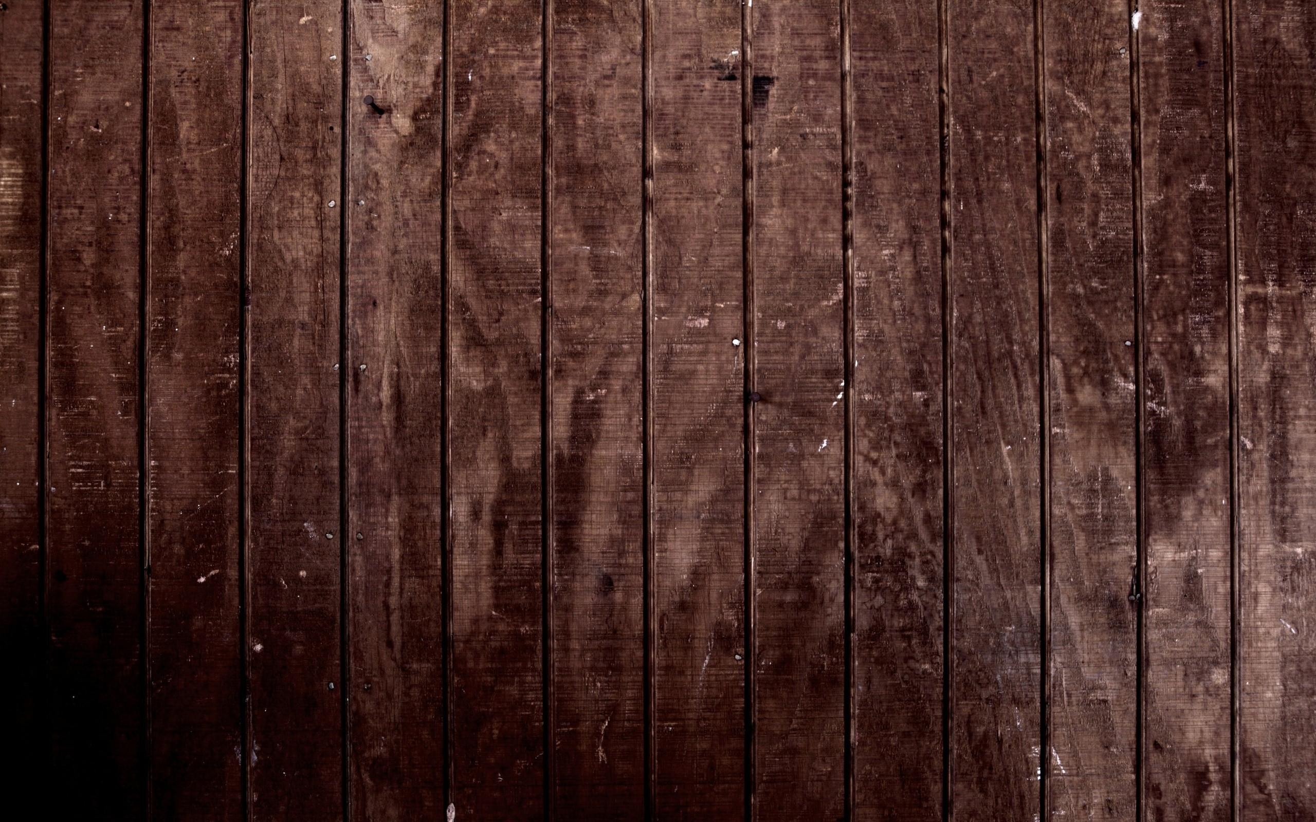 Dark Rustic Wood Background